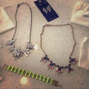 J. Crew jewelry bundle